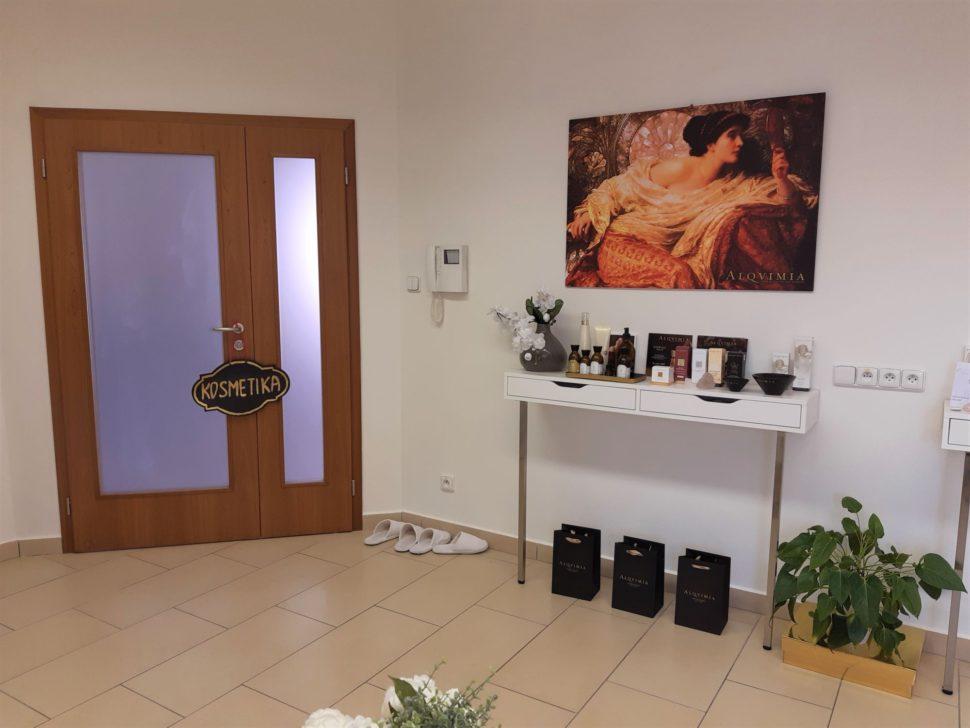 Kosmetický salon Vesna vstup